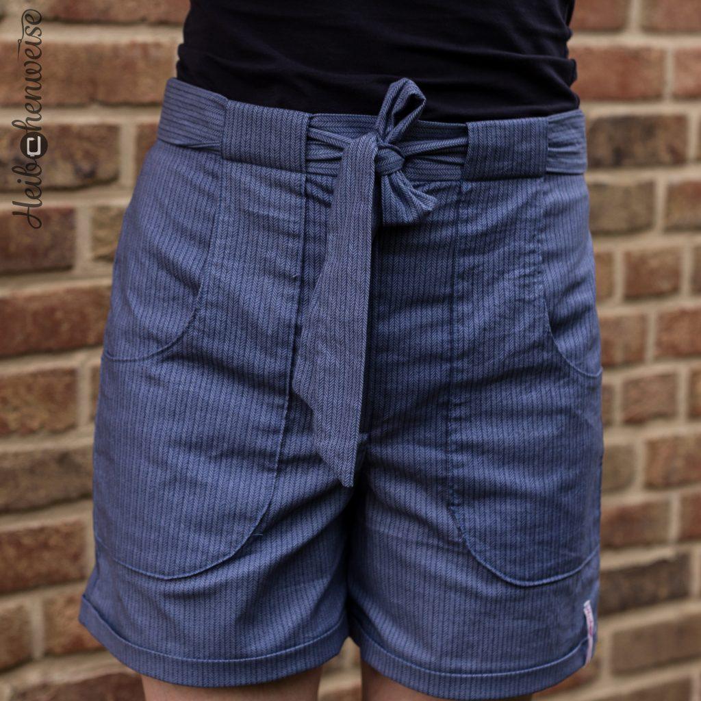 Shorts 107 A Burda Style 7 2016 genäht