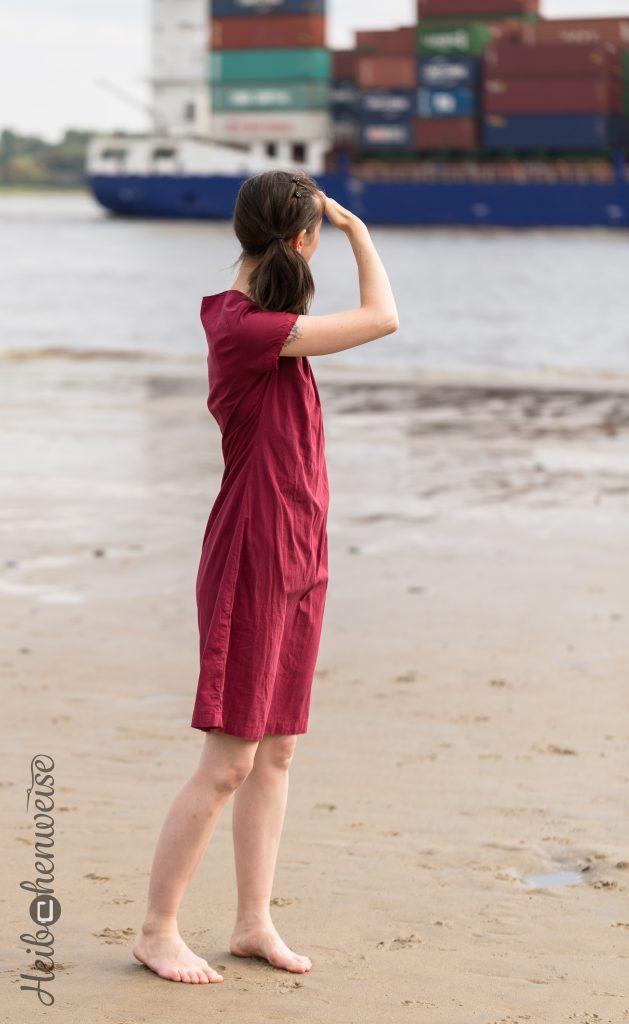 Kleid Ameland Schnittreif genäht