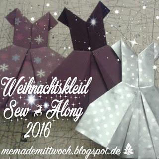 Weihnachtskleid Sew Along Teil 1