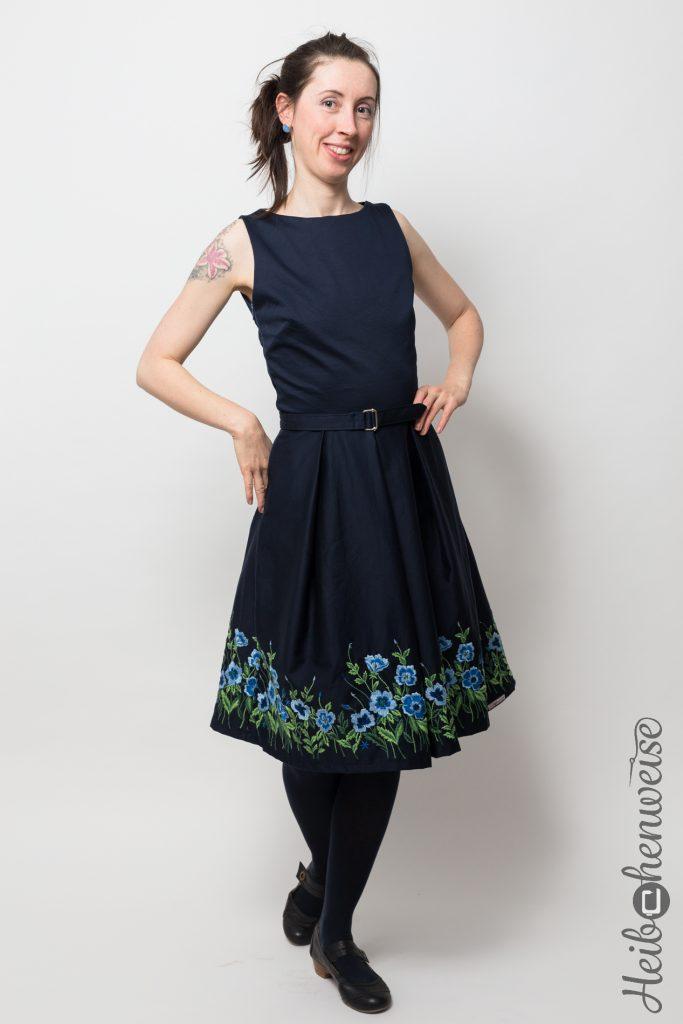 Burda Kleid 7080 genäht