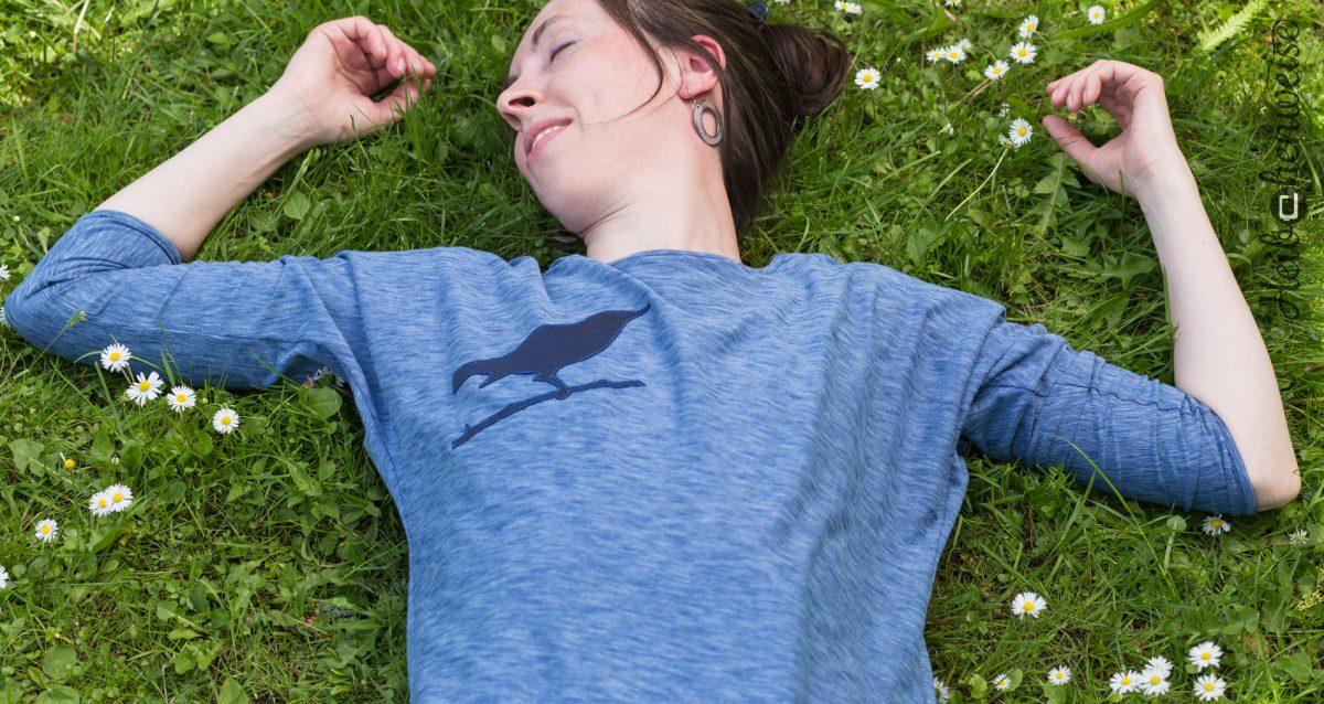 Vogelfrei?! Neue Shirts, mit Druck und Aplikation