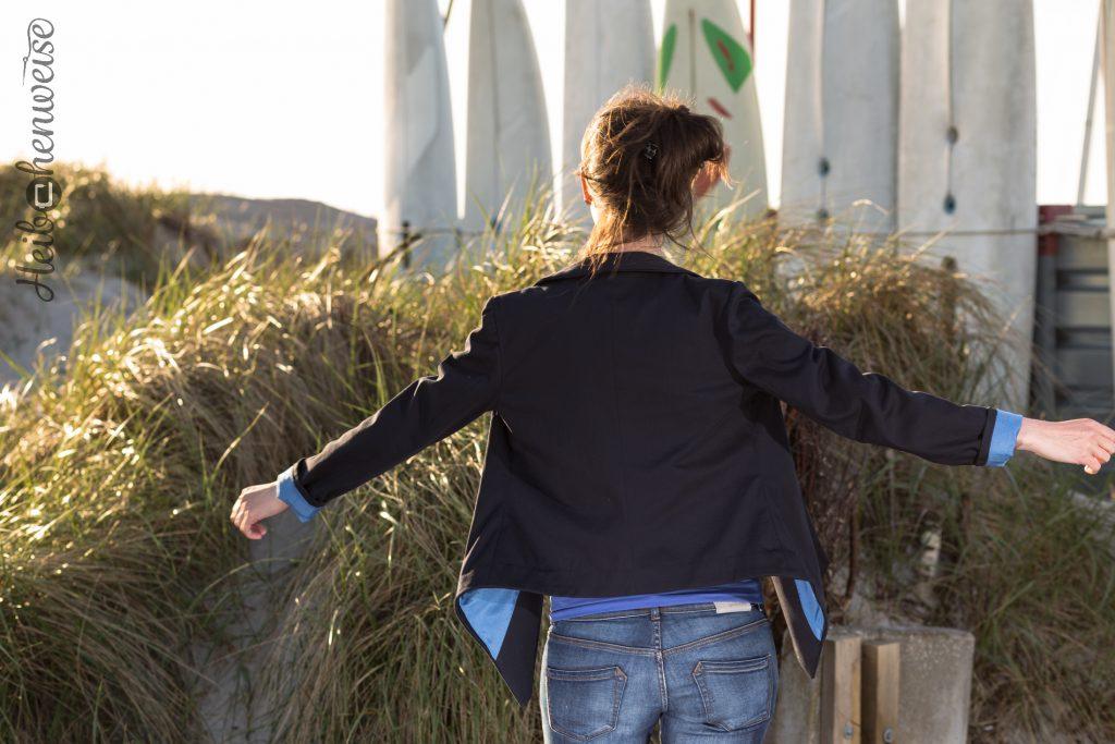 Jacket Spencer, Modell Coco, aus Burda style Nähkurs, genäht