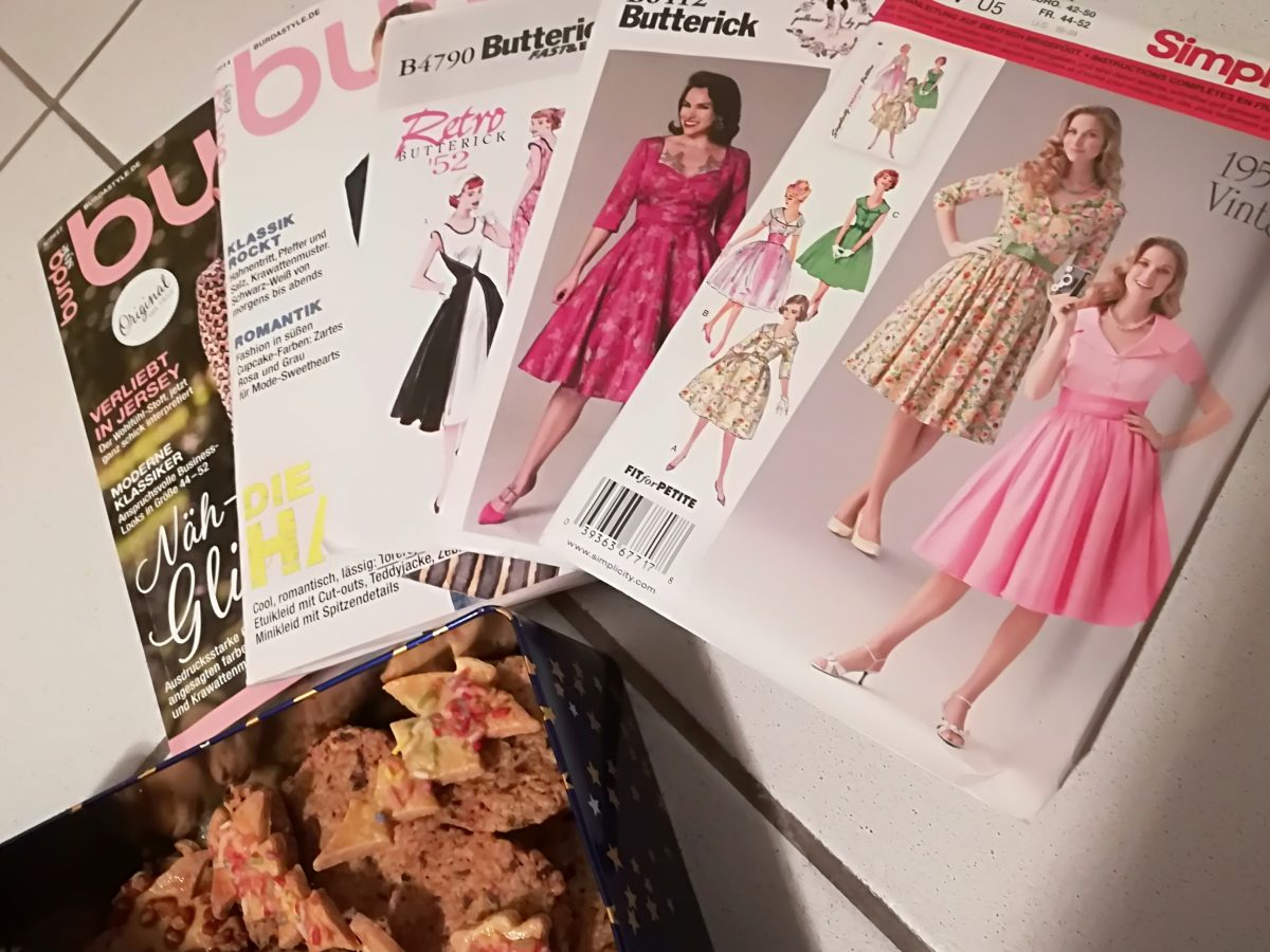 Ein Kleid zum Fest? Weihnachtskleid Sew Along 2017