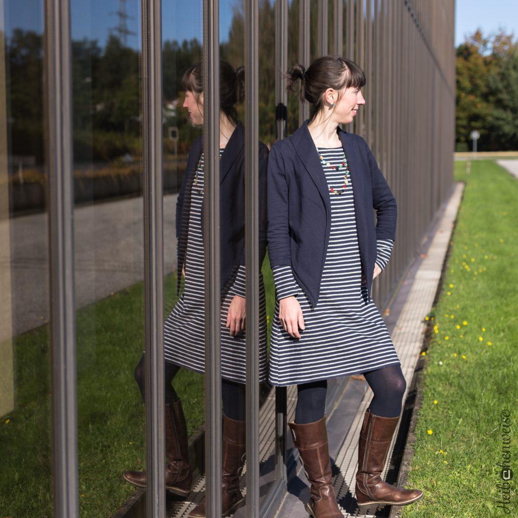 Fashionstyle 7 2017 Bolero Jäckchen und Marlene als Kleid nähen