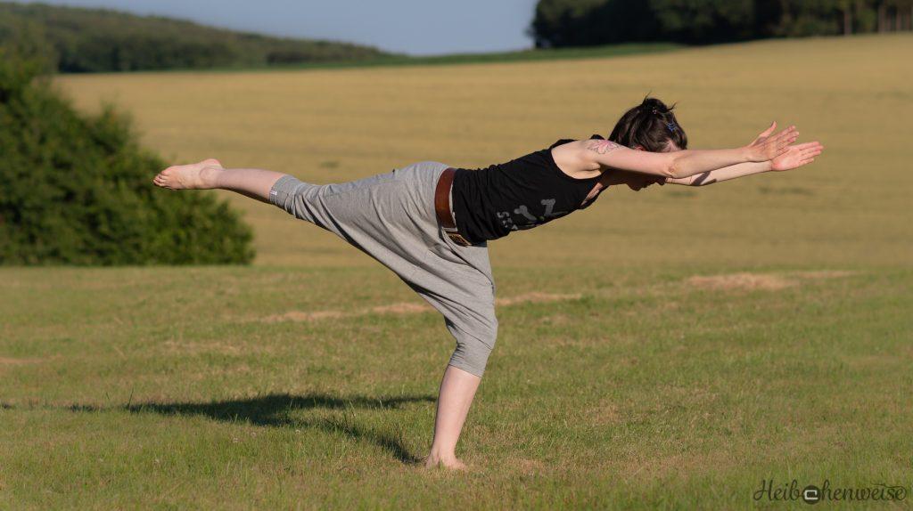 Burda Haremshose 109 aus 7/2010 genäht