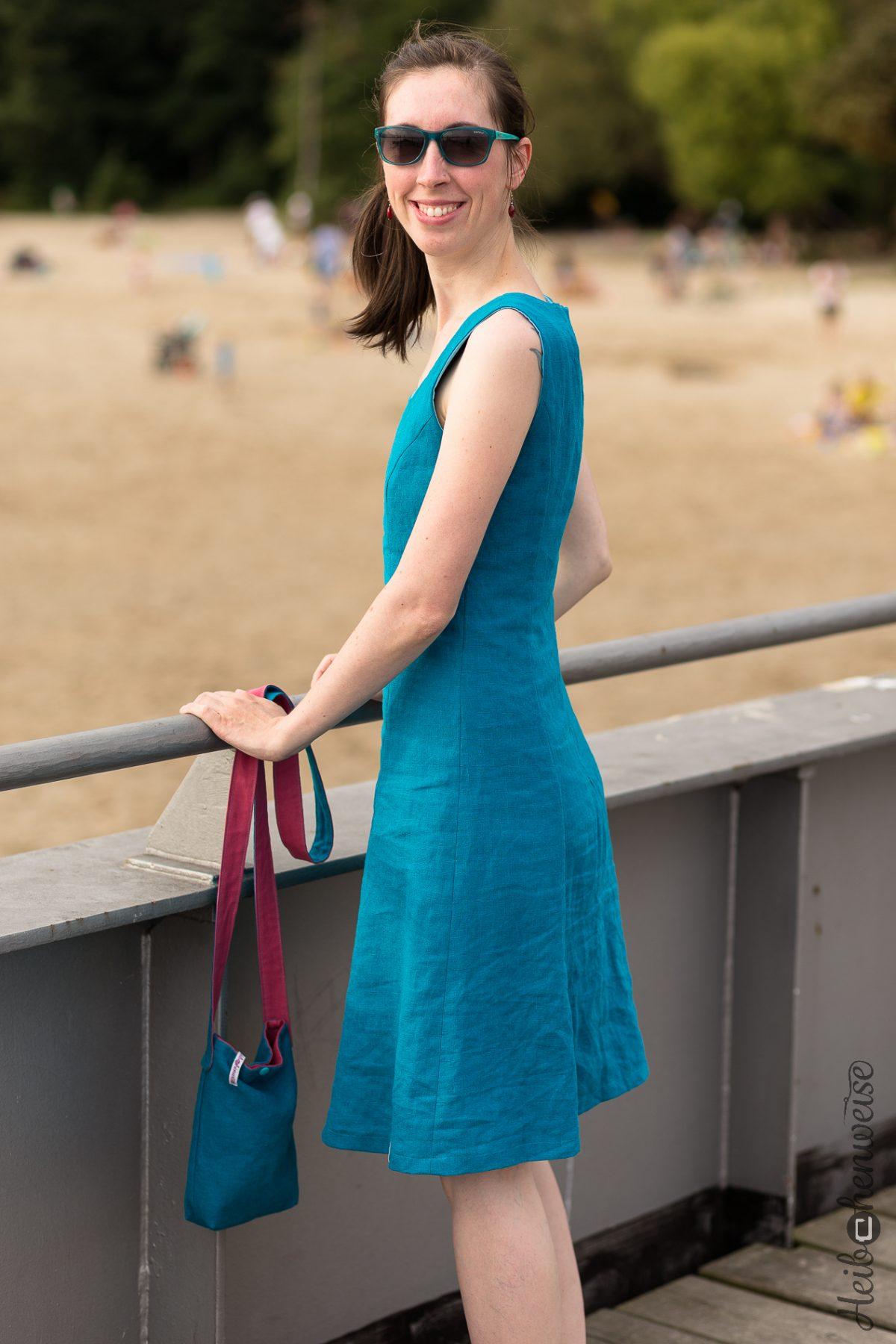 Leinenkleid – ein toller Burda Schnitt!!!