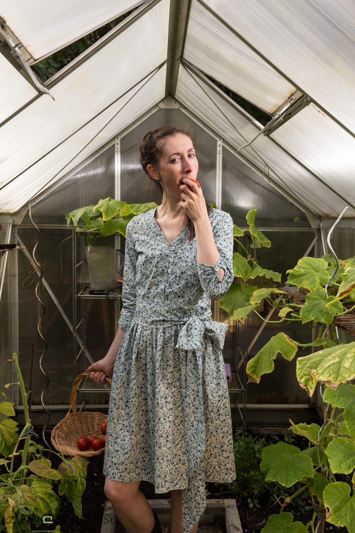 Land und Lecker: Irenes Kleid…