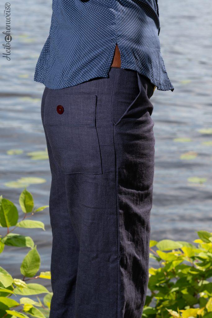 Hose Burdastyle Modell 102 aus 5/ 2017 genäht