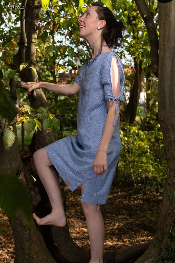 Shirt als Kleid aus NähTrends Mein Style Sommerausgabe Modell 4 genäht